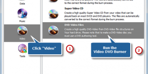 How to Burn Video to DVD Disk