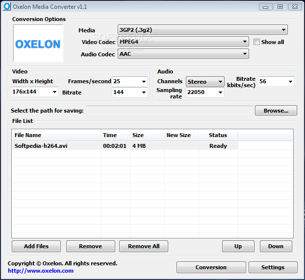 Free Oxelon Media Converter