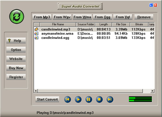 Super Audio Converter