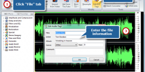 How to Edit ID3 Tag and WMA Info