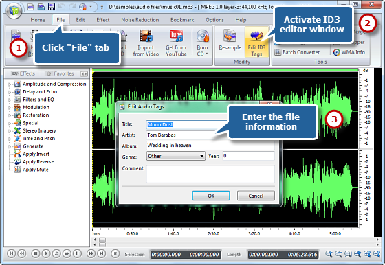 Activate ID3 Editor