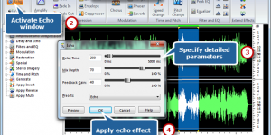 How to Add Echo to Audio Files