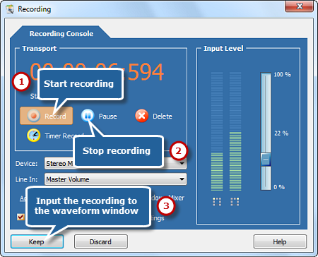 Cache Your Recording