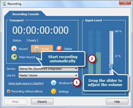 Record MP3 while Streaming YouTube Video