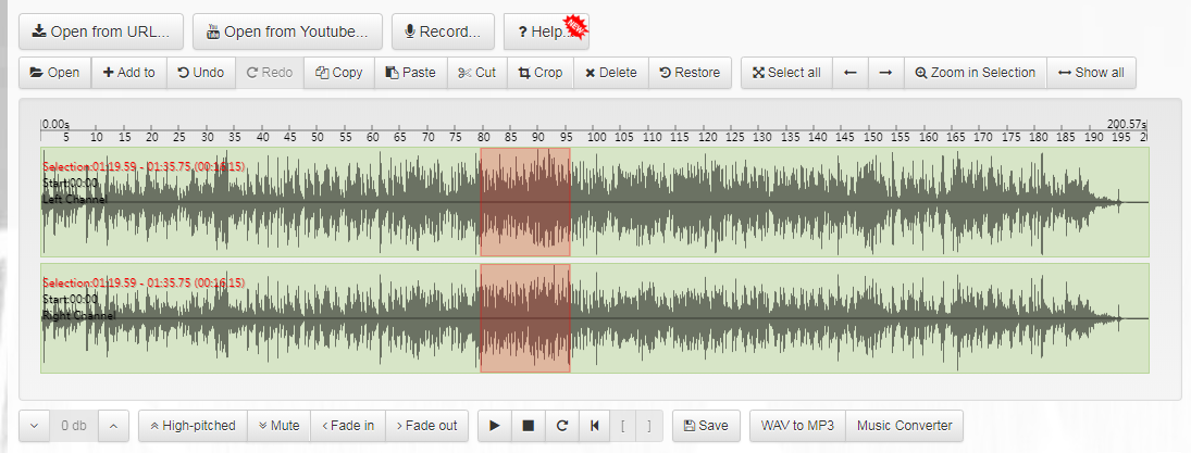 Bear Audio Editor